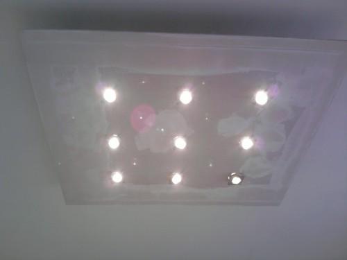 Soffitto lampadario : (Torino)