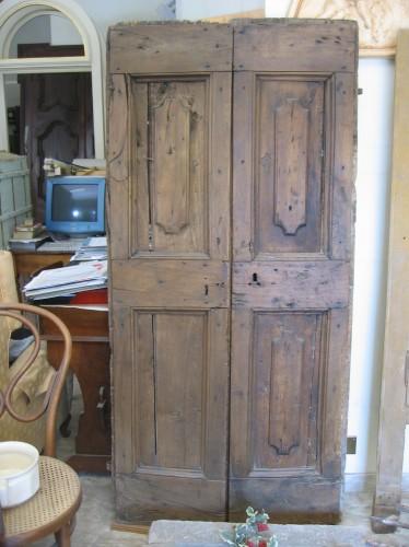 Portantica di tortora vittorio restauro porte e portoni - Vecchie porte in legno ...