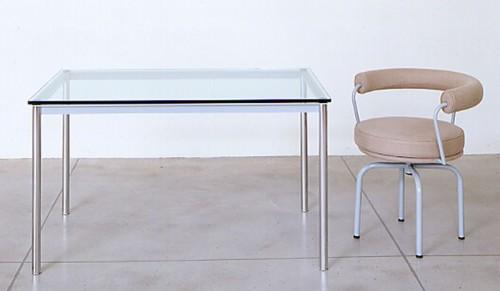 Tavolo LC10 . By Le Corbusier : (Gorgonzola)