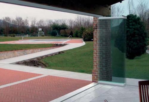 porte in vetro per esterno : (brugine) - Porte In Vetro Per Esterni