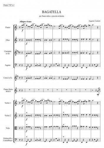Partiture orchestrali