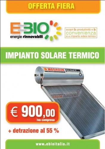 Pannello Solare Termico Megasun : Pannello solare termico megasun ebio litri altamura