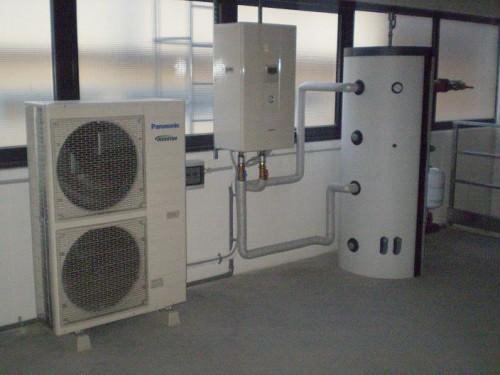 Pompa di calore aria acqua montebelluna for Costo pompa di calore aria acqua