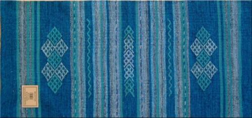 Tappeto Cucina AZZURRO kilim : (Tronzano Vercellese)