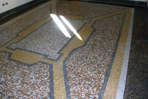 Recupero terrazzo/seminato alla veneziana : (Roma)