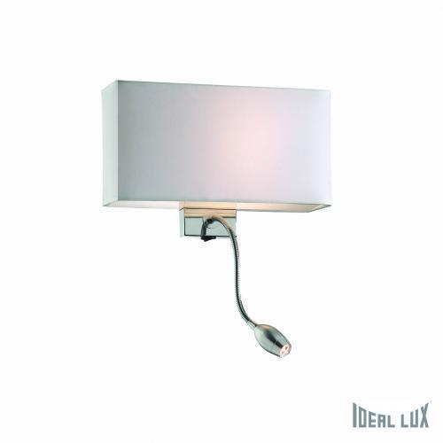 LAMPADA DA PARETE IDEAL LUX HOTEL AP2 4 COLORI : (Pesaro)