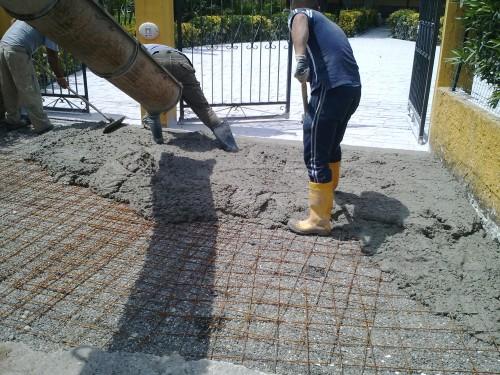 Pavimento Calcestruzzo Stampato : Pavimento stampato monolitico in calcestruzzo giugliano in