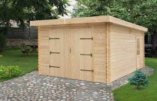 Casette in legno casette da giardino casette italia - Garage prefabbricati in legno ...