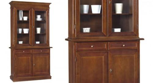 Cristalliera 4 porte 2 cassetti villaricca for Ninocco arredamenti
