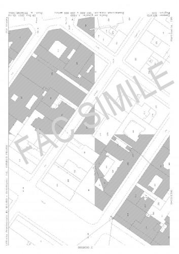 Estratto mappa ed elaborato planimetrico giussano - Progetto casa giussano ...