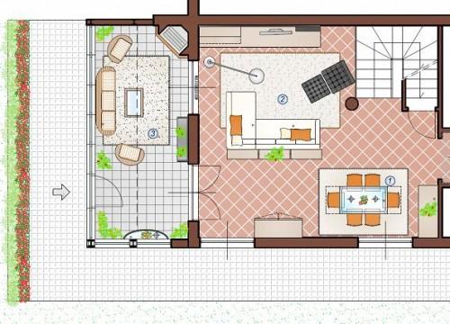 Redazione progetto architettonico san cipriano picentino for Piani casa di campagna 2000 piedi quadrati