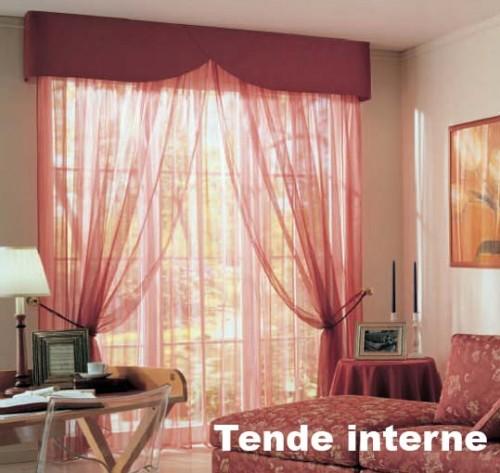 Tenda con mantovana ronciglione - Tenda per camera da letto ...