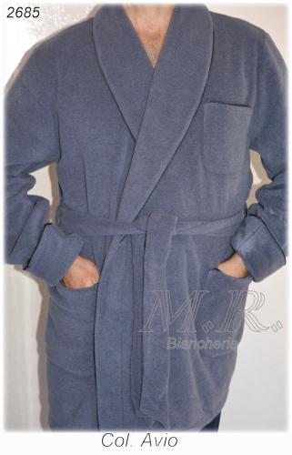 giacca da camera uomo tessuto pile colore avion tg. 50 : (monopoli) - Giacca Da Camera Uomo Pile
