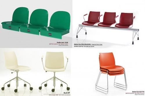 Sedute In Plastica Per Sedie.Sedie E Sedute In Plastica Brendola