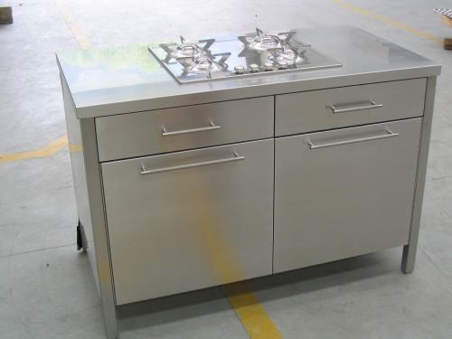 Mobili arredo acciaio inox morbegno - Maniglie cucina leroy merlin ...