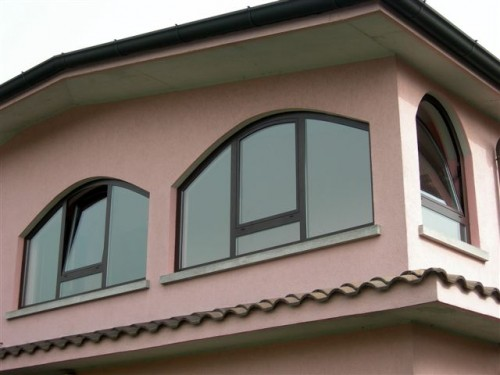 Simple finestre ad arco with finestre tonde - Finestra ovale e finestra rotonda ...
