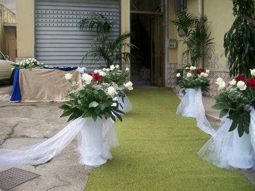 Addobbo casa sposa pontecagnano faiano - Addobbi tavoli matrimonio casa ...