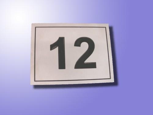 Numeri Civici In Plastica.Numeri Civici Scandiano