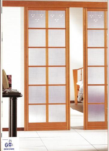 Pannelli con formelle di vetro porte scorrevoli meda - Spazzole per porte scorrevoli ...