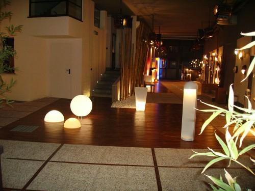 Zanino temaluce   allestimento luci da esterno : (roma)