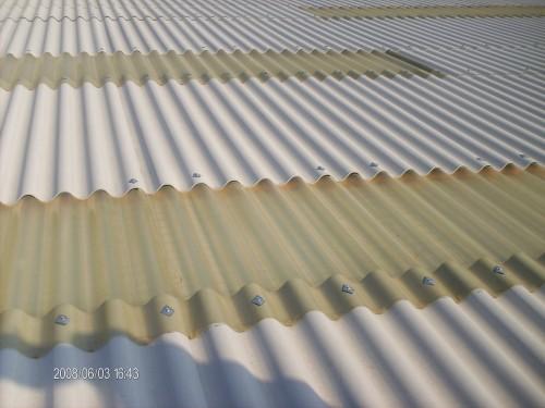 Lastre in plastica e policarbonato napoli for Lamiera ondulata zincata prezzi