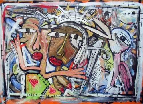 Quadri moderni dell 39 artista contemporaneo alessandro for Quadri arte contemporanea