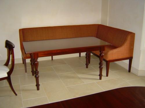 Panca ad angolo con tavolo livorno for Panca angolare con tavolo