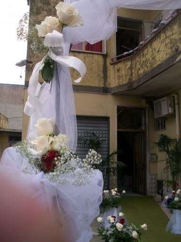 Addobbo casa sposa pontecagnano faiano - Addobbi floreali matrimonio casa sposa ...