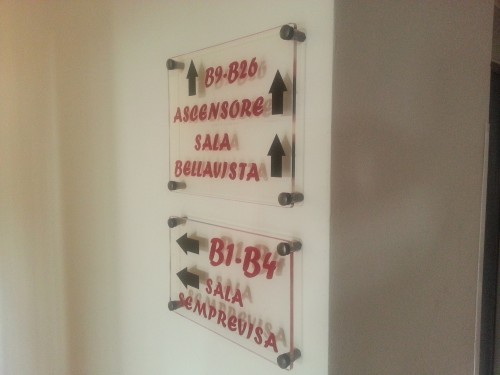 Targhe segnaletiche plexiglass casarano - Targhe porta plexiglass ...