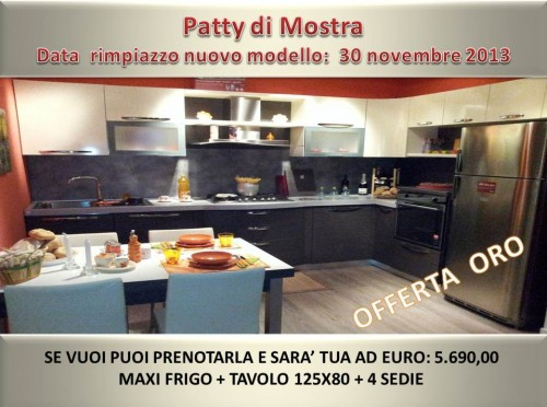 PATTY STOSA CUCINE OFFERTA OUTLET : (Capistrello)