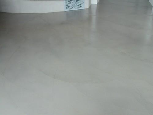 Pavimenti Resina Trento : Parete e pavimento cucina in resina trento spiazzo