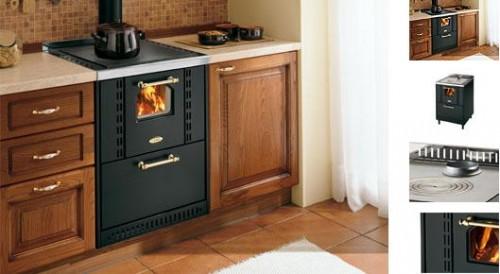Cucina a legna incasso ghibli 60 cadel : (Casalserugo)