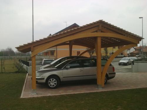 Carport povoletto for Carport 2 posti