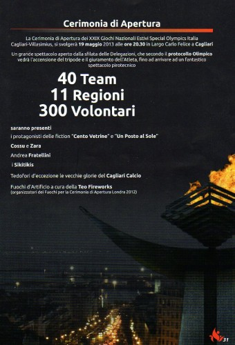 Olympics Special Team Italia teo fireworks