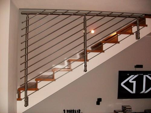 Parapetto in acciaio inox brugine - Scale per interni usate ...