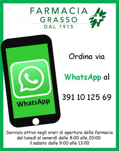 WhatsApp - Farmacia Grasso Messina