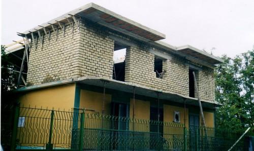 Costruzione nuova casa sopraelevazione in muratura di tufo - Casa in muratura portante ...