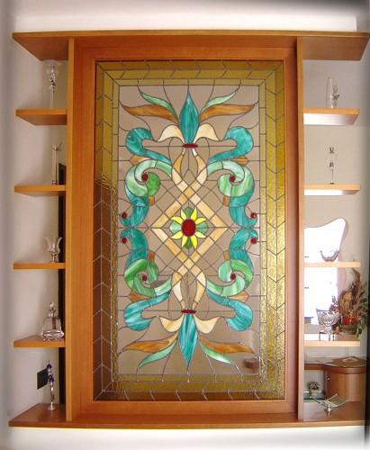 Calavia arte vetrate artistiche capua for Vetrate artistiche per porte interne