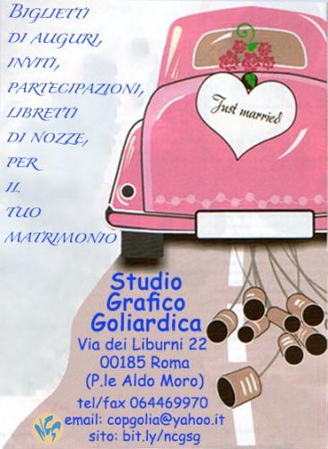 Popolare Biglietti di auguri creativi e personalizzati per matrimonio : (Roma) GQ36