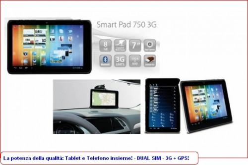 Tablet Mediacom con 3G integrato e GPS