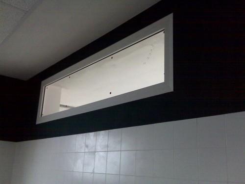 finestre fisse separe 39 in alluminio brugine
