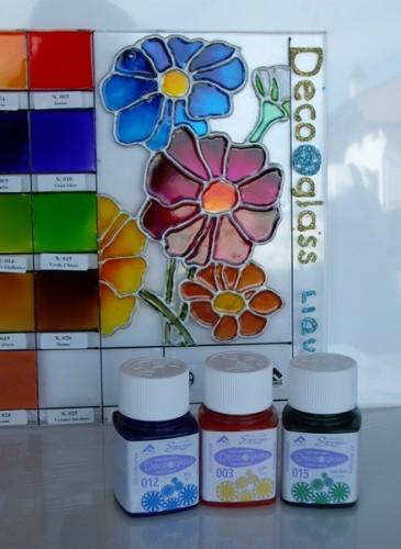 colori per vetro decoglass ml 50 pozzuolo del friuli