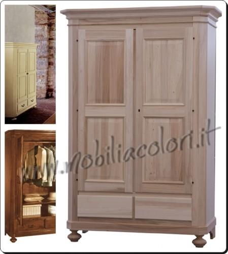 Mobili kit legno grezzo vecchia cassa uva legno grezzo - Colorare i mobili ...