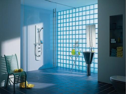 vetrocemento doccia : Vetromattone o Vetrocemento : (Due Carrare)