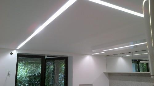 Illuminazione ufficio soffitto: luci a soffitto design con led net