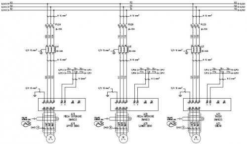 Schemi Elettrici Impianti Industriali : Creazione di schemi elettrici riccione