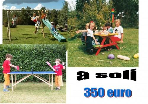 Giochi da giardino per bambini lamezia terme