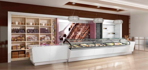 Teknoidea arredi ed attrezzature bar gelaterie for Arredamenti per gelaterie