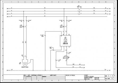 Schemi Elettrici Per Quadri : Creazione di schemi elettrici riccione