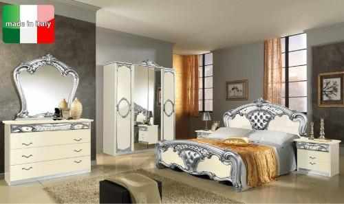 Camere da letto sara black e cream complete lesmo for Camere da letto complete a 500 euro